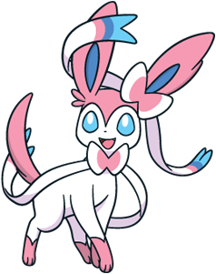 Sylveon Global Link artwork