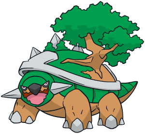 Torterra Global Link artwork