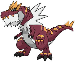 Tyrantrum Global Link artwork