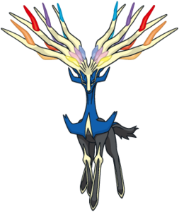 Xerneas Global Link artwork
