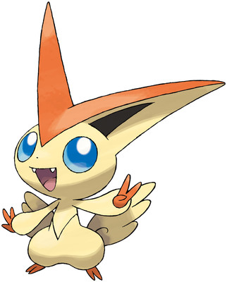 Victini artwork by Ken Sugimori