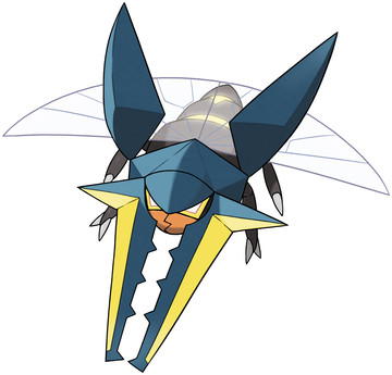 Vikavolt artwork by Ken Sugimori