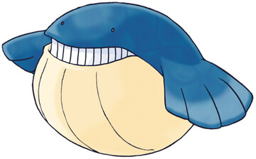 Wailmer artwork by Ken Sugimori