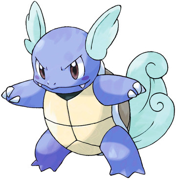 Wartortle artwork by Ken Sugimori