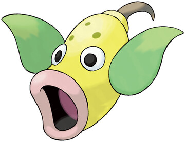 Weepinbell artwork by Ken Sugimori