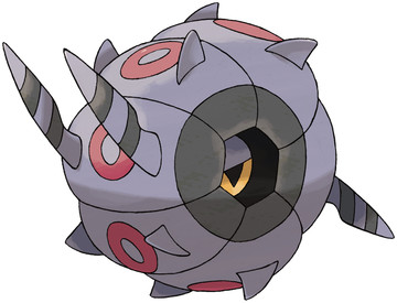 Whirlipede artwork by Ken Sugimori