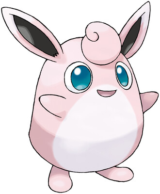 Wigglytuff artwork by Ken Sugimori