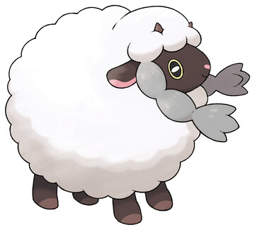 Wooloo artwork by Ken Sugimori