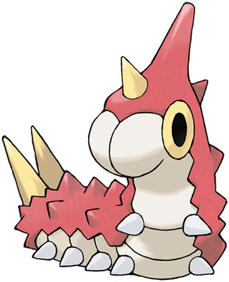 Wurmple artwork by Ken Sugimori