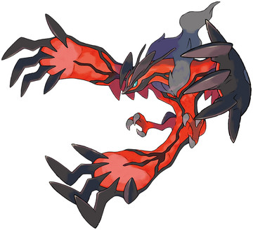 Yveltal artwork by Ken Sugimori