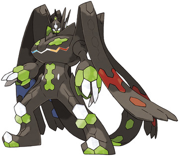 Zygarde (Complete Forme) artwork by Ken Sugimori