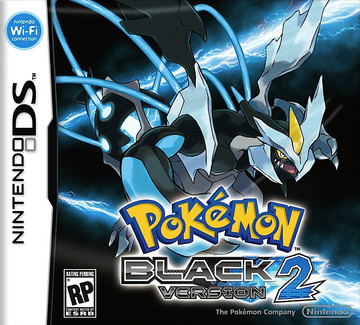 Pokemon Black 2 box art featuring Black Kyurem