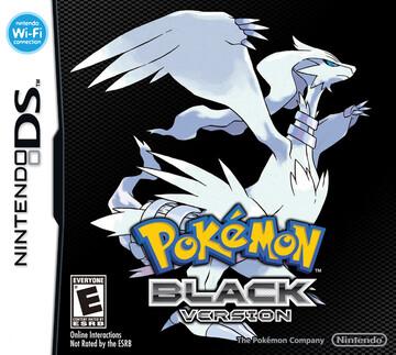 Pokemon Black box art featuring Reshiram