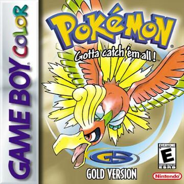 Pokemon Gold box art featuring Ho-oh