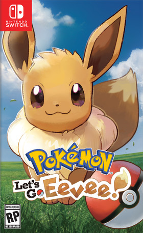 Pokemon Let's Go Eevee box art