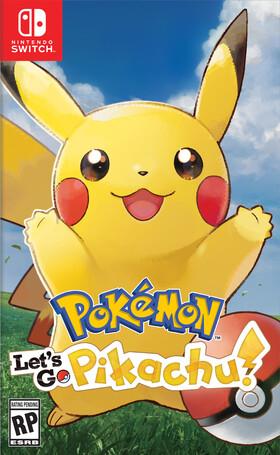 Pokemon Let's Go Pikachu box art