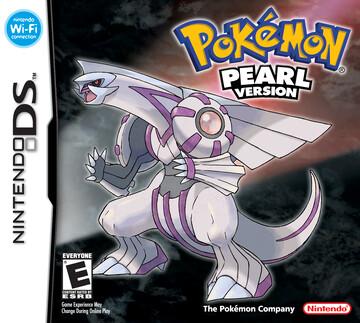 Pokemon Pearl box art featuring Palkia