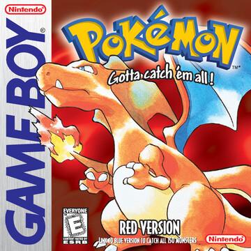 Pokemon Red box art featuring Charizard