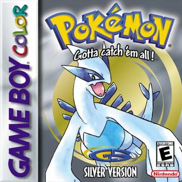 Pokemon Silver box art featuring Lugia