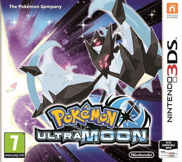Pokemon Ultra Moon box art featuring Dawn Wings Necrozma