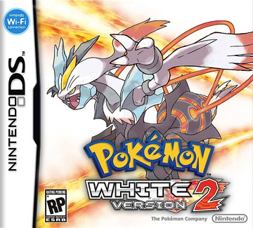 Pokemon White 2 box art featuring White Kyurem