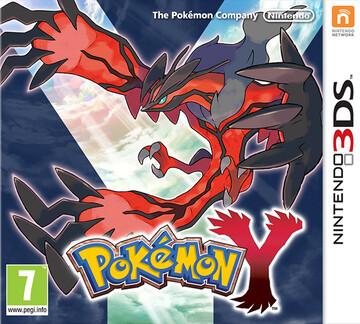 Pokemon Y box art featuring Yveltal