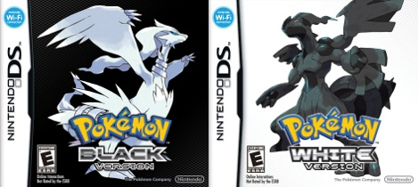 Pokémon White and Black box art