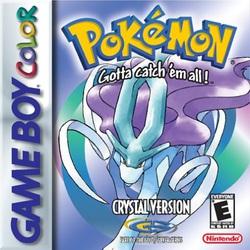 Pokémon Crystal box art