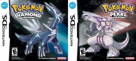 Pokémon Diamond and Pearl box art