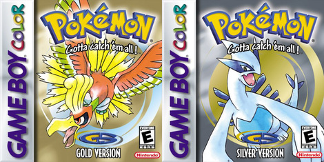 Image result for Pokemon Gold and Silver