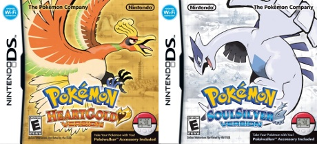Pokémon HeartGold and SoulSilver box art