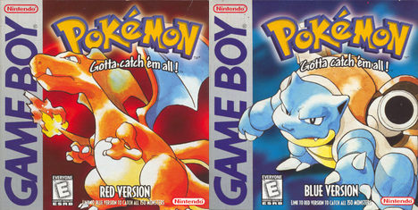 Pokémon Red & Blue box art