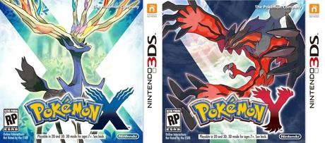 Pokémon X and Y box art