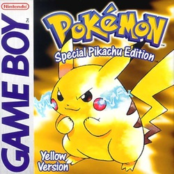Pokémon Yellow box art