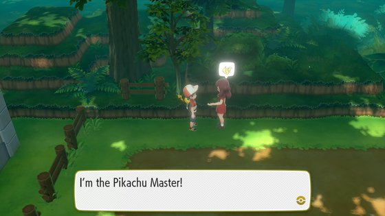 Pikachu Master Trainer in Viridian Forest
