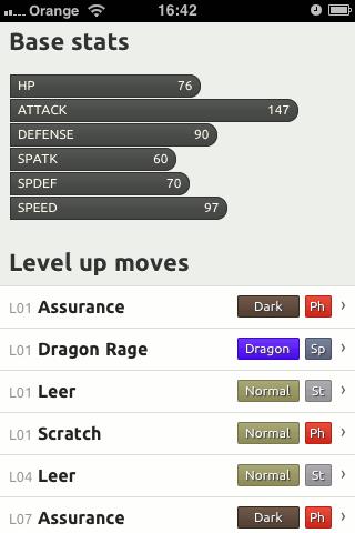 Pokemon page - Haxorus