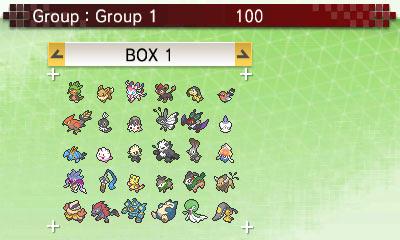 Pokemon Bank box view