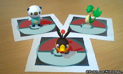 Using the AR Viewer in Pokedex 3D