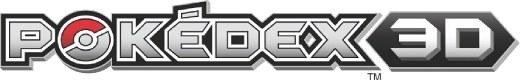 The Pokedex 3D logo