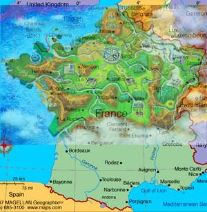 Kalos/France overlay