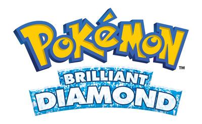 Pokemon Brilliant Diamond logo
