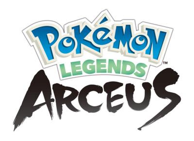 Pokemon Legends: Arceus logo