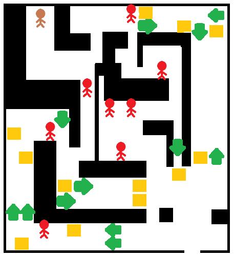 Viridian Gym map