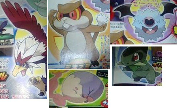 New Pokemon for Black and White, revealed July 2010