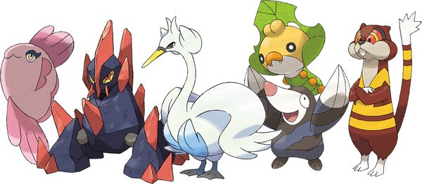 New Pokemon for Black and White, revealed August 2010