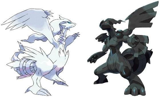 Pokemon black white legendaries revealed pok mon database - Pokemon legendaire blanc ...