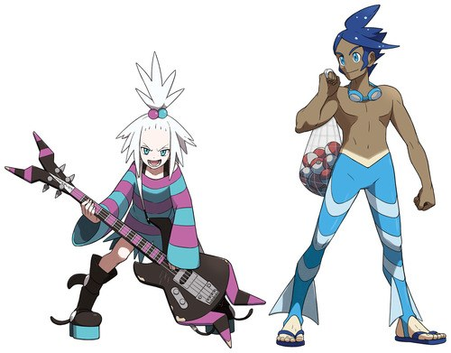 New gym leaders Homika and Shizui