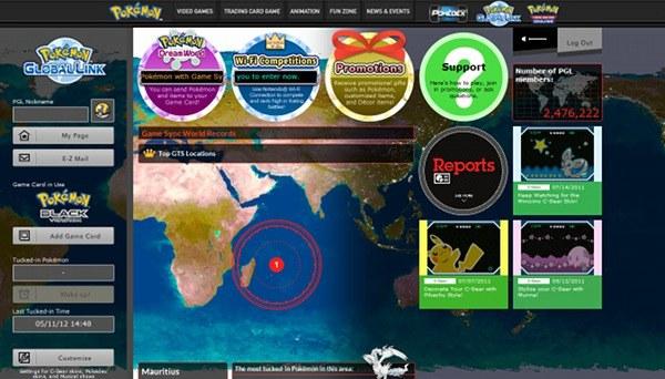 Pokemon Global Link June 2012