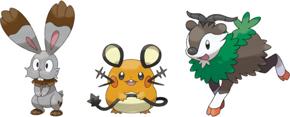 New Pokemon Revealed In August Corocoro Pok 233 Mon Database