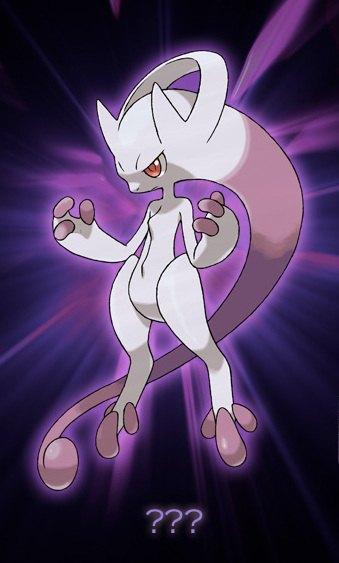 Pokemon - Mewtwo evolution ...